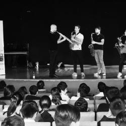 Snow Beat - Milano Saxophone Quartet