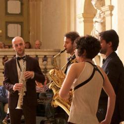 Milano Saxophone quartet e Coro Sasso Rosso